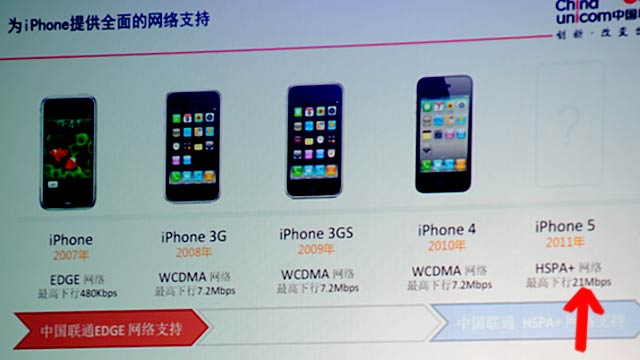 The iPhone 5's Internet Is Three Times Faster, Says Chinese Carrier