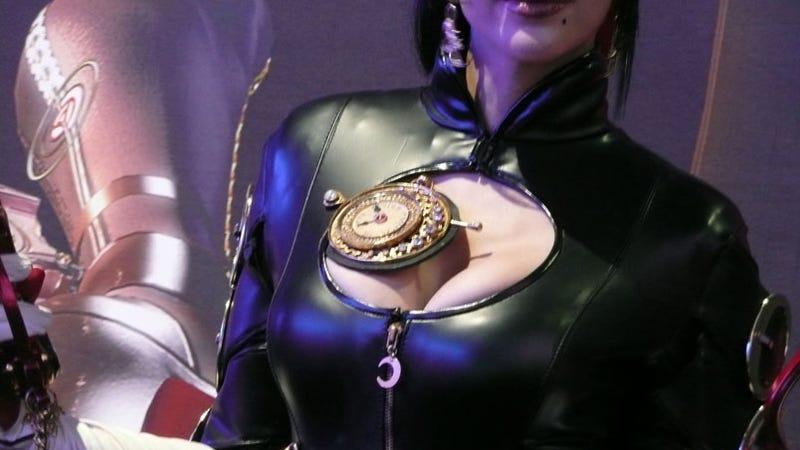 Bayonetta Girl Is Not Cosplay, She Is Art