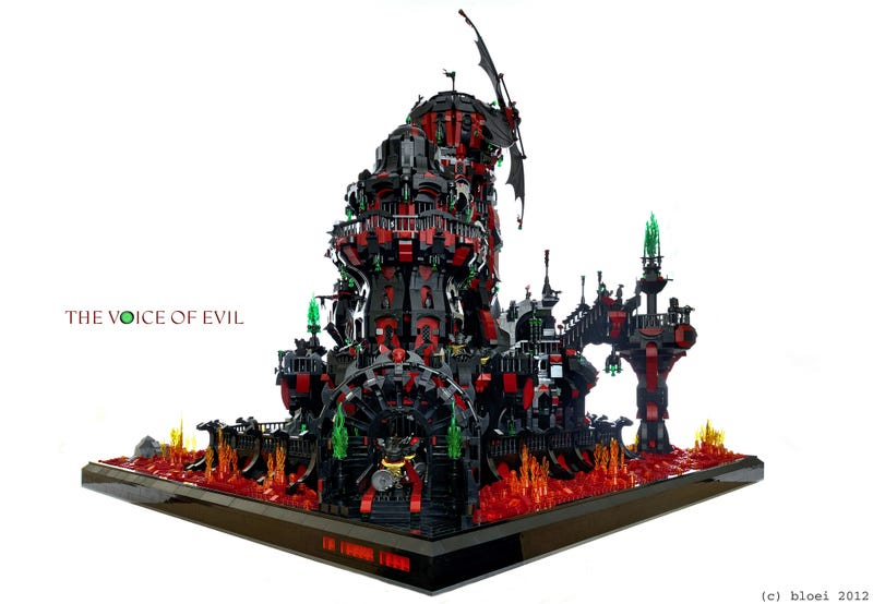 This is quite possibly the most impressive LEGO fortress you've ever seen