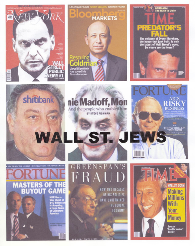 What Up With This 'Wall St. Jews' Flier?