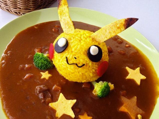 What Pikachu Food Really Looks Like