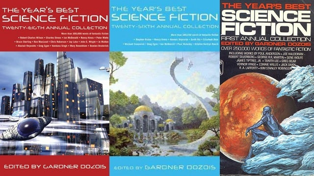All 29 editions of Gardner Dozois' Year's Best Science Fiction anthologies coming as e-books