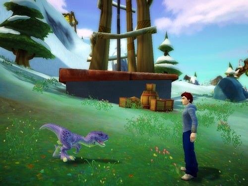 Massive Free Realms Update Brings Tiny Dinosaurs
