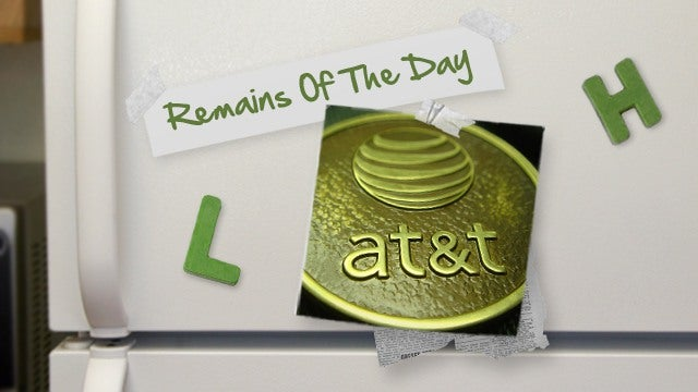 Remains of the Day: AT&T Doubles Data Caps on Prepaid, Makes Voice Mandatory