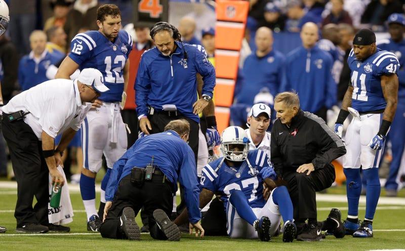 Andrew Luck Blames Himself For Reggie Wayne's Injury