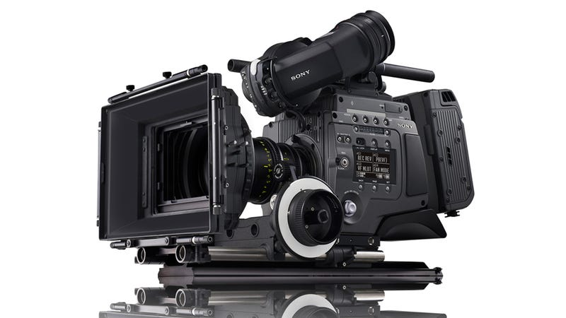 Sony's F65 CineAlta 4K Camera Is a High-End Hollywood Monster