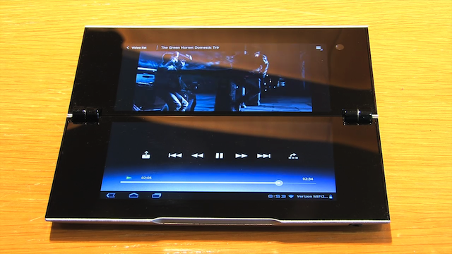 Sony Tablet P Gallery