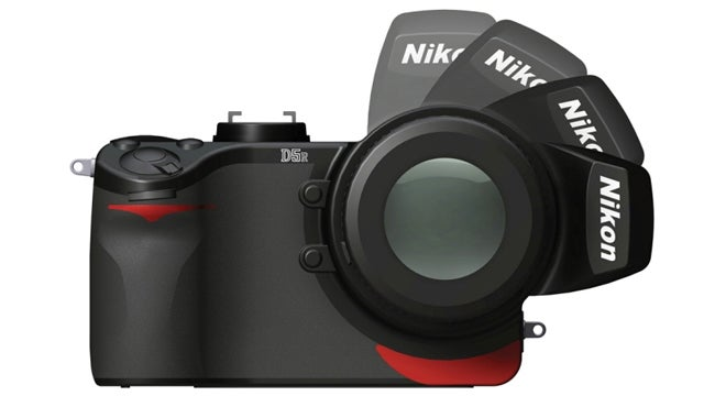 Nikon Camera Concept Adjusts the Balance Ergonomically and Stylishly