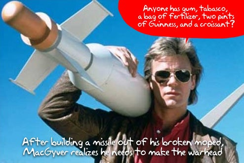 Holy Crap: MacGyver Blockbuster Film Coming!