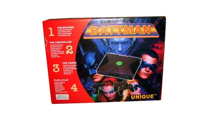 An Xbox, a PlayStation and Batman Walk Into a Bar...