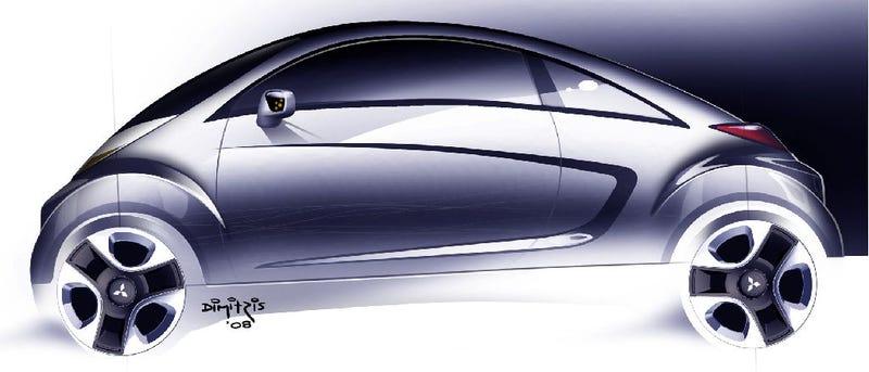 Mitsubishi i-MiEV Sport Air Concept Heading To Geneva