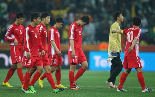 North Korean Soccer Team Publicly Shamed for 'Betraying' Their Country
