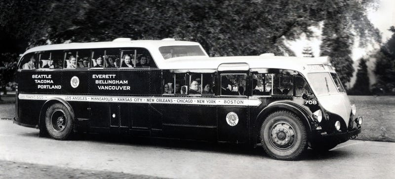 This Double-Decker 1930s Bus Is Way Too Awesome