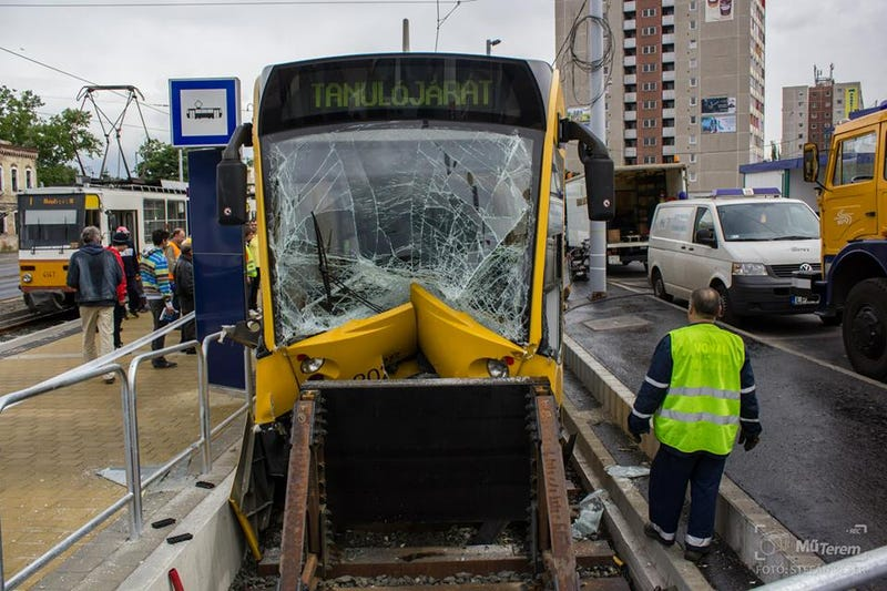 The World's Longest Tram Got A Bit Shorter After This Crash