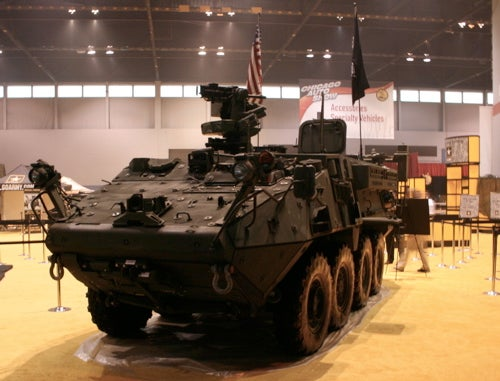 Chicago Auto Show: Army Stryker Engineer Squad Vehicle