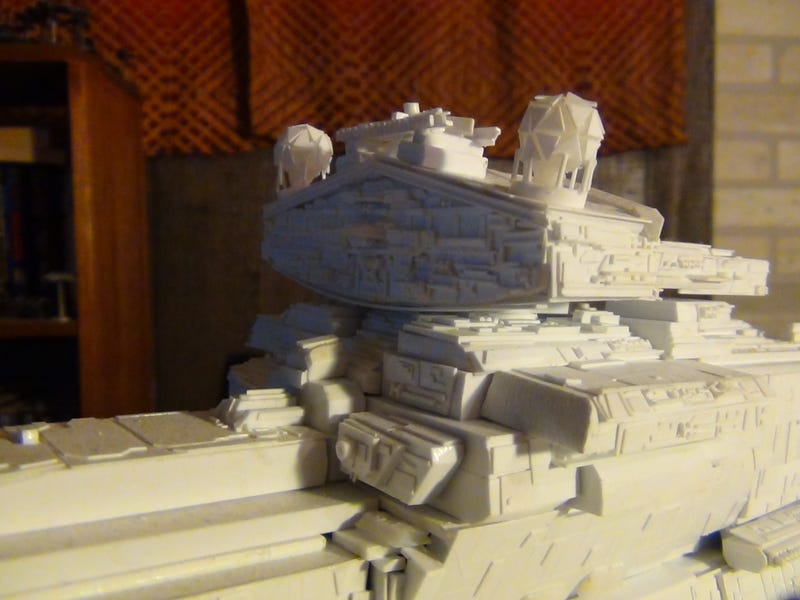Hero Building A Star Destroyer As Big As A Room