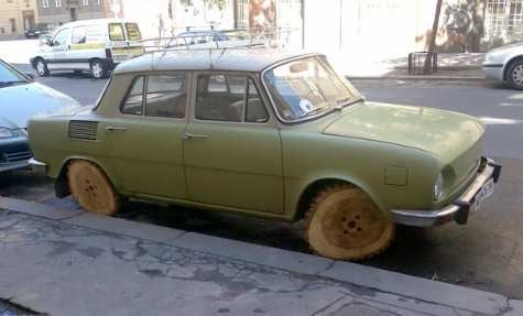 What Wood He Do for a Set of Wheels? Skoda Rims Au Natural