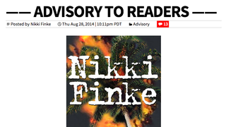Nikki Finke Has Killed NikkiFinke.com