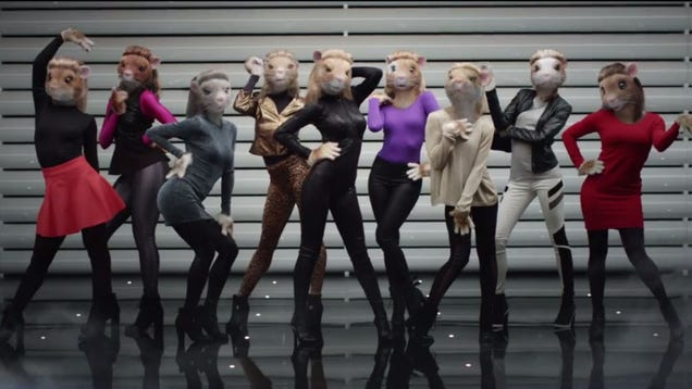 New Kia Commercial Features Sexed-Up Lady Hamsters