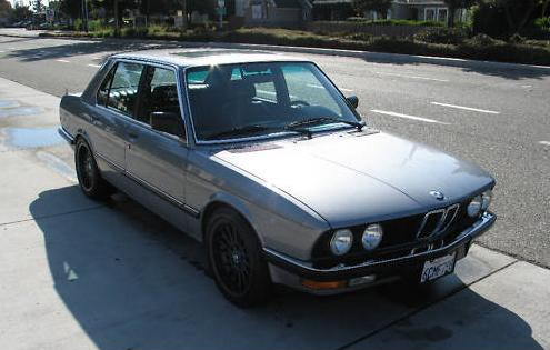 BMW 557i is a Vintage German Sedan with a 'merican Heartbeat
