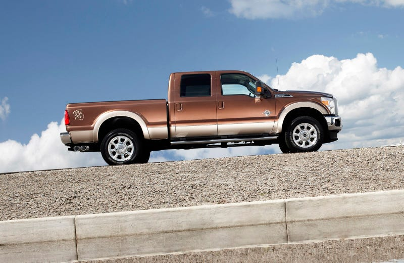 2011 Ford Super Duty: Press Photos
