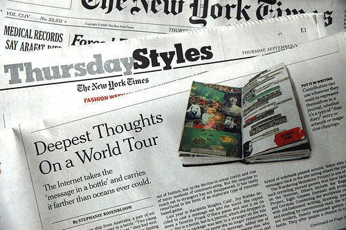 Ten Things To Say About the NYT Styles Section This Weekend
