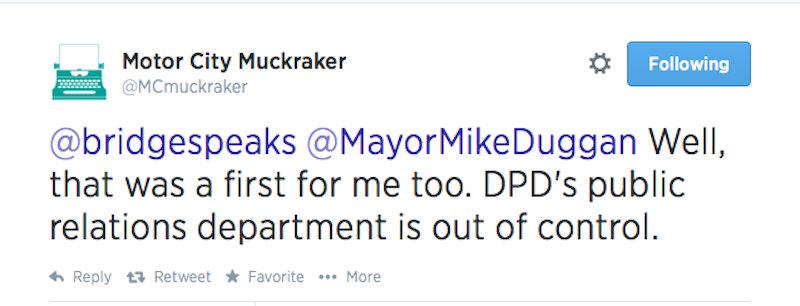 Someone Please Get The Detroit Police A New Social Media Manager