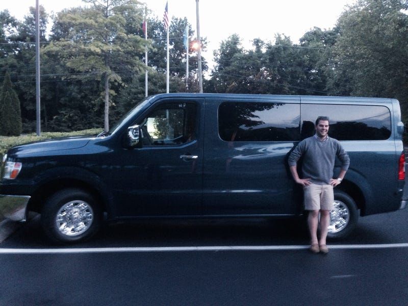Nissan NV 3500: Will It Bachelor Party?