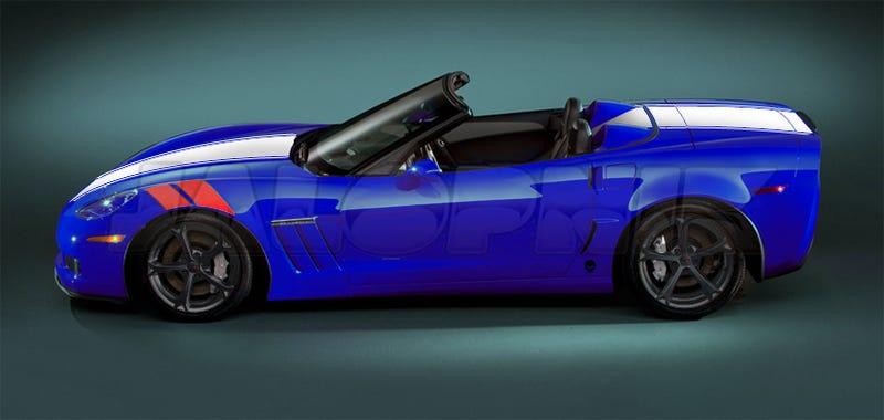2010 Corvette Grand Sport: Wider, Sportier, Grander
