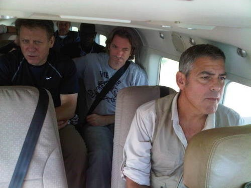 George Clooney & Ann Curry Visit Darfur