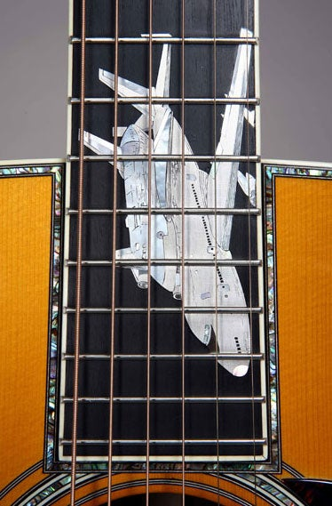 "Martin's ""History of Flight"" Guitar Costs $150,000, Ranks Among World's Ugliest"