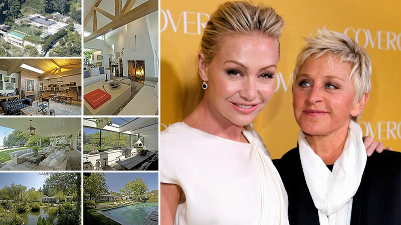 Ellen and Portia's $60 Million Love Shack Can Be Yours