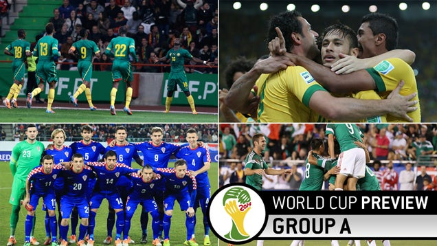World Cup Group A Preview: There's Brazil, And There's Everybody Else