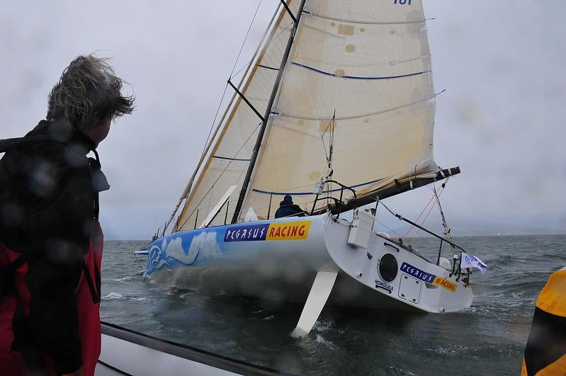 The Pegasus Open 50 Raceboat: WTF is a Sailboat Doing on Gizmodo?