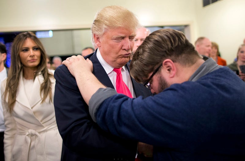 Donald Trump Tells Christian Leaders He Has to Win Election So He Doesn't Go to Hell
