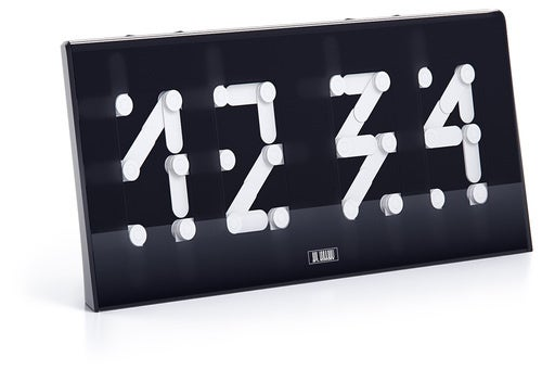 Segmentus Clock Concept Is Half Digital, Half Analog