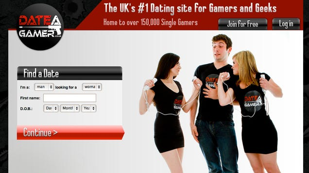 Dating site gamers
