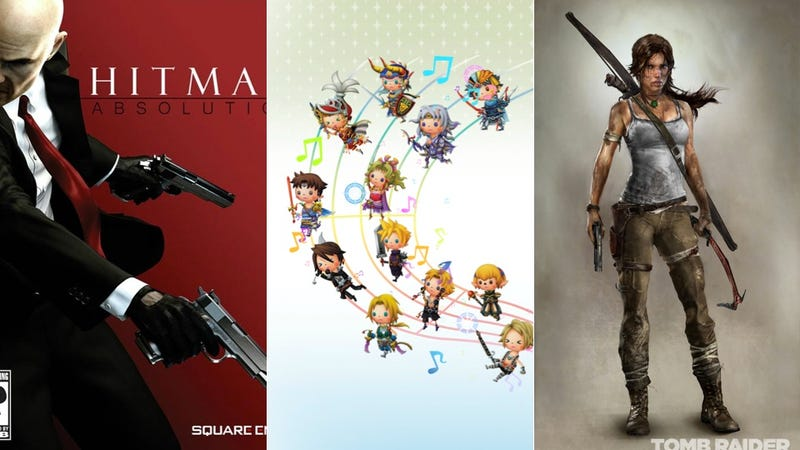 Square Enix's E3 Line-Up Includes Agent 47, Lara Croft and Handheld Final Fantasy