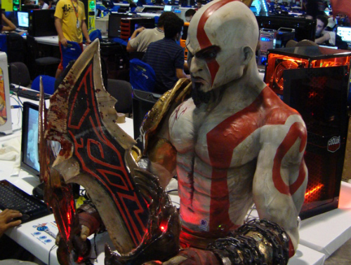 Pray That Your Kratos Case Mod PC Doesn't Get a Virus