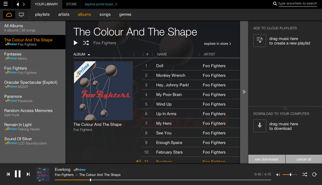 Amazon Prime Music Impressions: It's Free! But It's Not Quite Enough