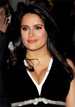 Salma Hayek Gets A Beard; Christian Bale Is A Hot Cop