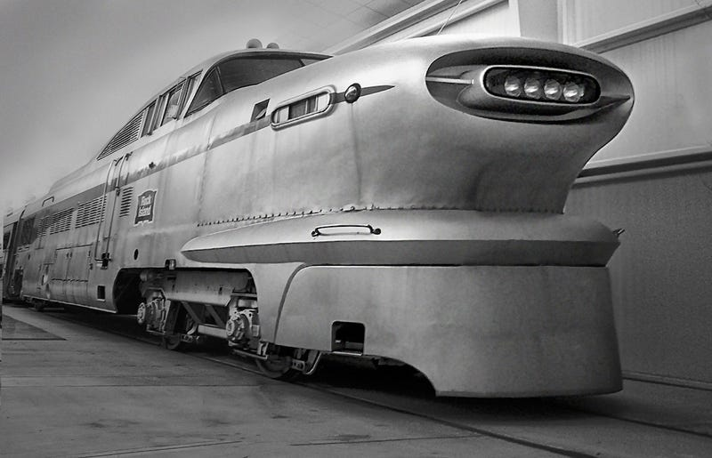 The zeppelin train the aerotrain and other classic for Electro motive division of general motors