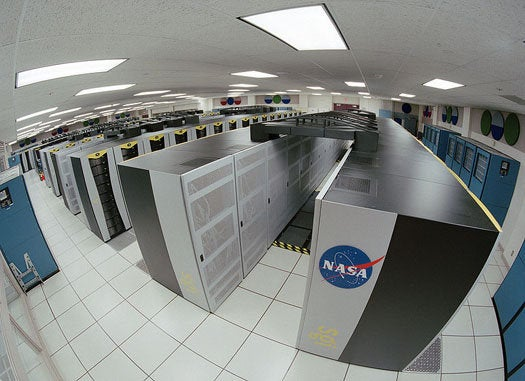 NASA's Earth Day Gift Runs On a 56,832-Core, 128-Screen Climate Research Supercomputer