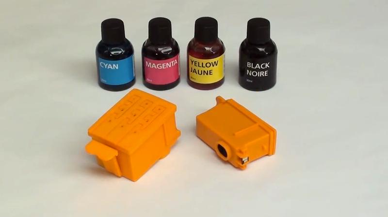 Someone Finally Invented 3D-Printed Inkjet Printer Cartridges