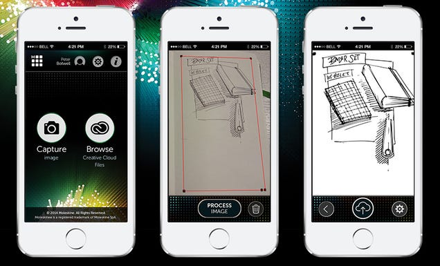 Digitize Your Doodles Into Adobe's Apps With Moleskine's New Notebooks