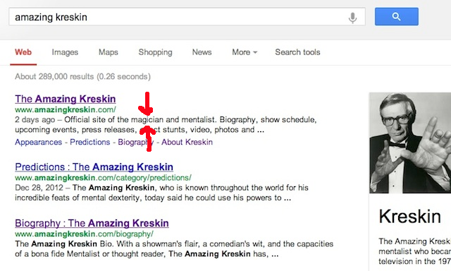 Whatever You Do, Don't Call The Amazing Kreskin A Magician