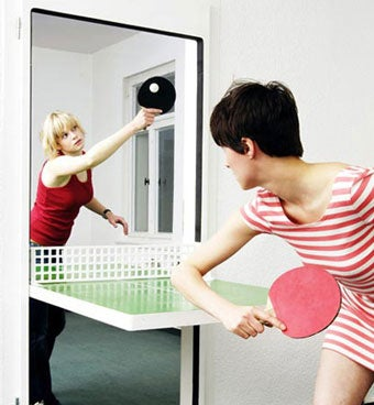 """""""Ping, Pong! Someone's In The Door!"""""""