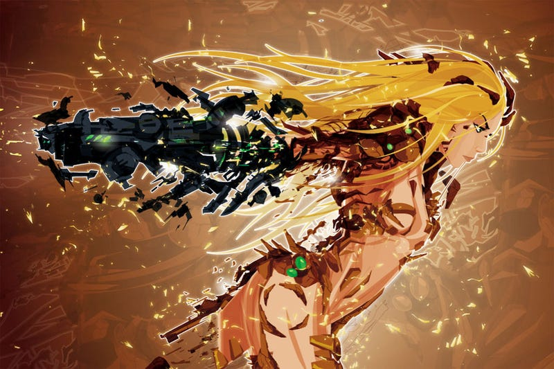 Metroid's Samus and the Exploded Suit