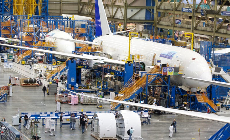 Boeing's 787 Dreamliner Is Having Wing Cracking Problems