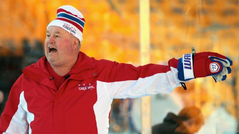 "The Capitals Axed Lovable ""Fat Fuck"" Coach Bruce Boudreau"